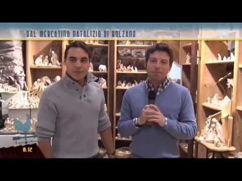 I presepi e le sculture da Bolzano