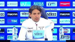 Le parole di mister Inzaghi alla vigilia di Fiorentina-Lazio