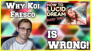 Why Koi Fresco is WRONG!