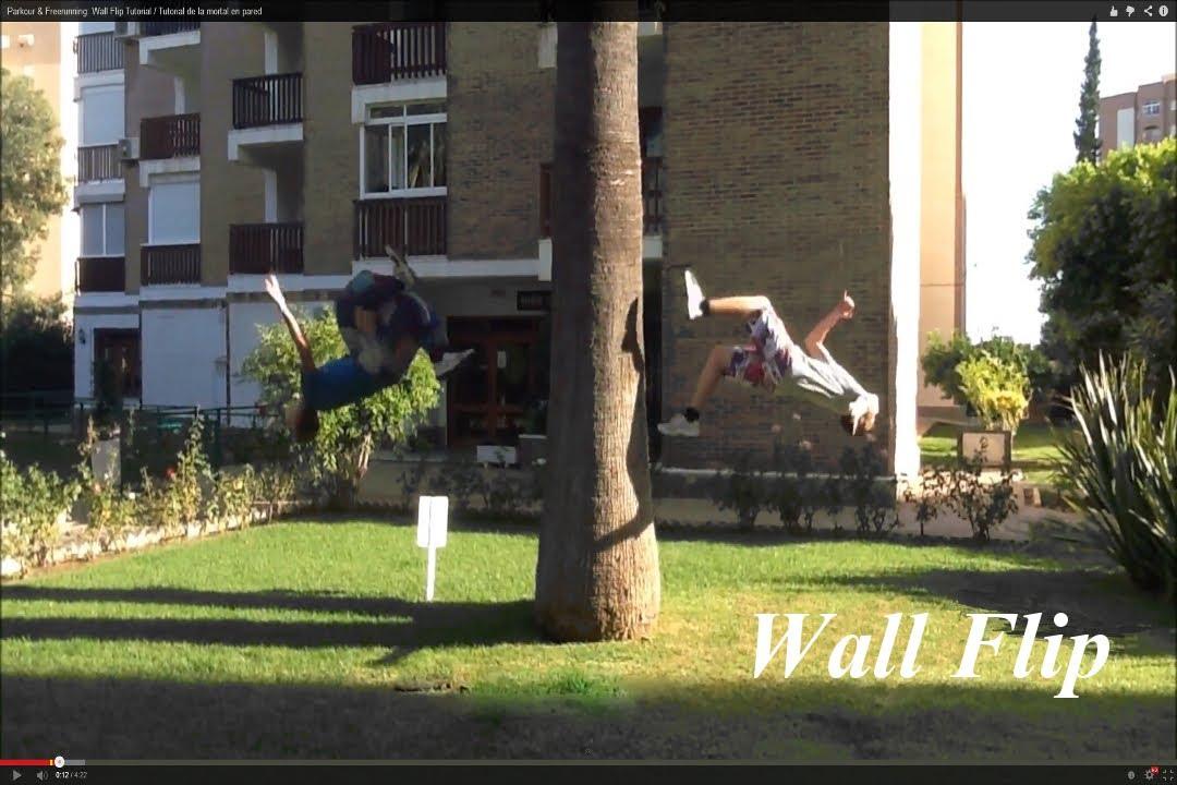 parkour wall flip - photo #47