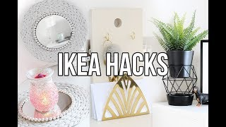 IKEA HACKS AND DIYS | AFFORDABLE AND EASY HOME DECOR 2018 | CHEAP ROOM DECOR