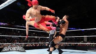 Los Matadores Vs. Ryback And Curtis Axel: WWE Superstars