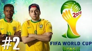 FIFA World Cup 2014 Ronaldinho Gets Hurt Ep.2