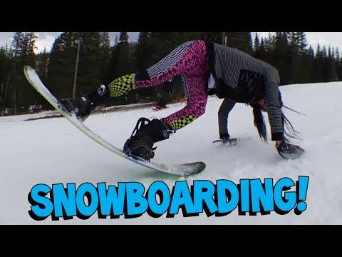 Steve Aoki Snowboard Adventures w/ Olympic Athlete Louie Vito! - On The Road w/ Steve Aoki #82