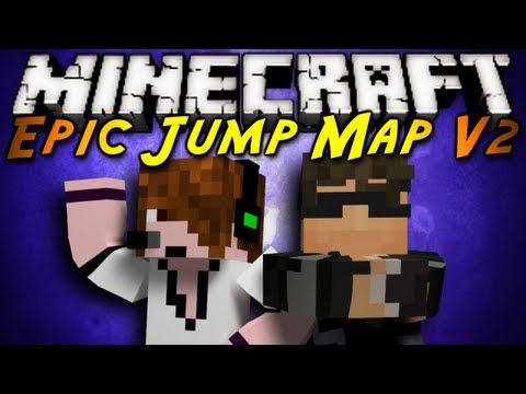 Minecraft: Epic Jump Map V2 Part 2!
