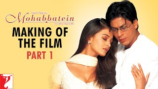 Making Of The Film Part 1 Mohabbatein