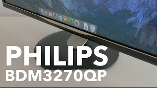Philips BDM3270QP, análisis