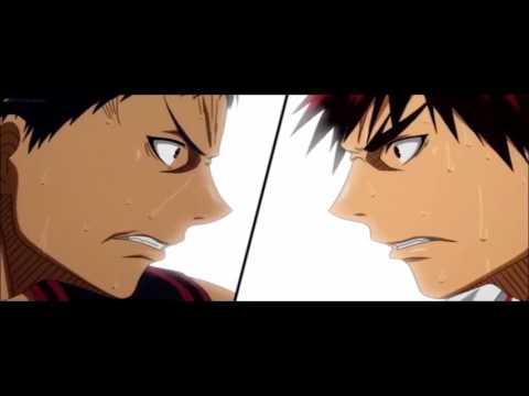 [ A M V ] Kuroko no Basket | Kagami vs Aomine | First AMV! | Re:make