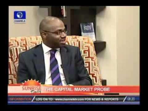 Bayo Rotimi speaks on the Capital Market Probe