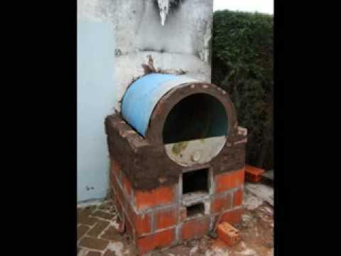 horno de barro y tambor