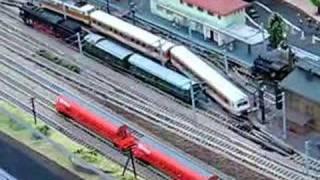 N Gauge Model Train Layout