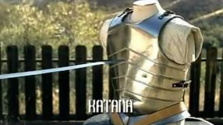 Japanese Katana VS European Longsword - Samurai sword VS Knight Broadsword
