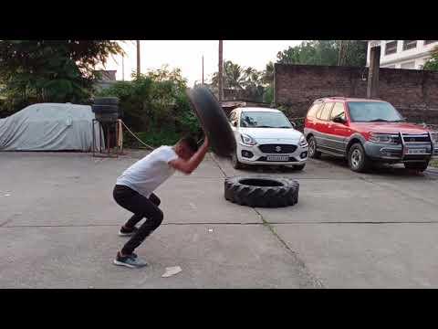 "Workout motivation🔥""dard"" 💪 || Crossfit || Tyre Workout"