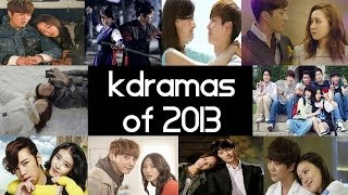 Top 10 Best 2013 Korean Dramas GIVEAWAY! Top 5 Fridays