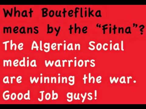What Abdelaziz Bouteflika means by the