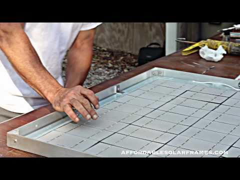 How to Build a Solar Panel - Part 2 of 3 lower your power bill - Free Electricity