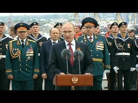 Polémica visita de Putin a Crimea en el Día de la Victoria
