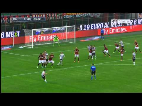 Milan 1-0 Udinese 2013/2014 | Full Highlights (Arabic Comm.)
