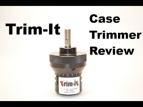 trim it case trimmer review youtube. Black Bedroom Furniture Sets. Home Design Ideas