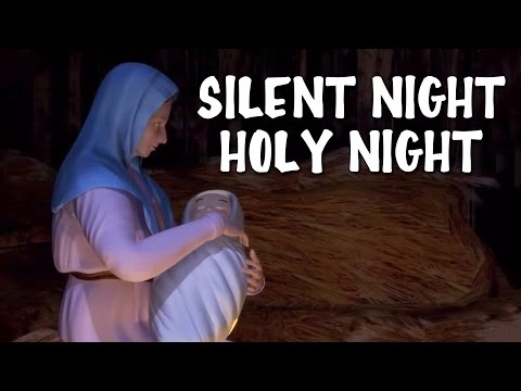 Silent Night Holy Night   Christmas Song With Lyrics - YouTube