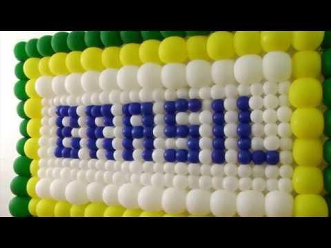 46 B. Como montar painel de balões Parte 2- Montagem (Tela redutora)