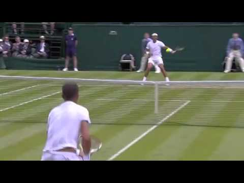 Rafa Nadal's lightning speed - Wimbledon 2014