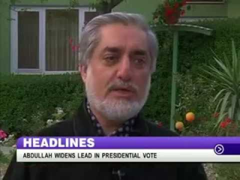 Abdullah widens lead in Afghanistan polls and other top stories