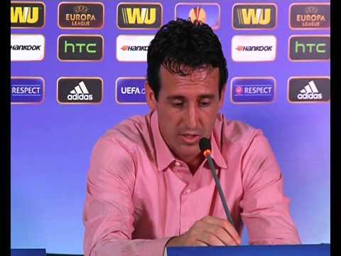 Rueda prensa Unai Emery, tras Estoril. 19/09/13. Sevilla FC