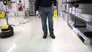 How To Buff A Floor: Spray Buffing & Burnishing
