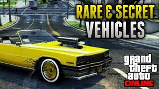 GTA 5 Rare Cars 12 Rare & Secret Vehicles On GTA 5
