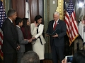 AP-Indian American Seema Verma sworn in for top health car..