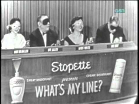 What's My Line Arnold Stang 19 June 1955