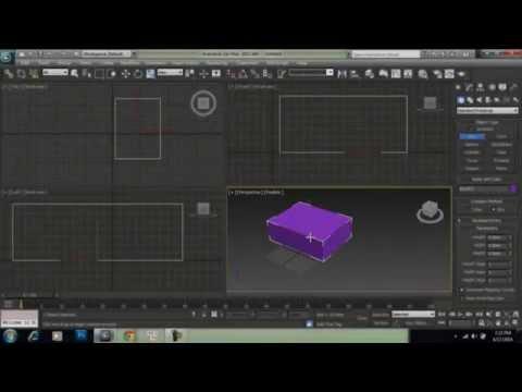 Autodesk 3Ds Max cơ bản - Bài 1 : Hướng dẫn sử dụng cơ bản