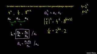 Geometrijsko zaporedje 2