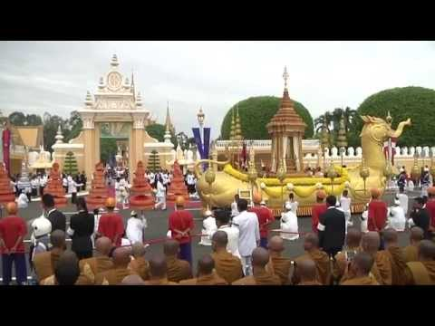 Parade to Enshrine King Norodom Sihanouk's Remains