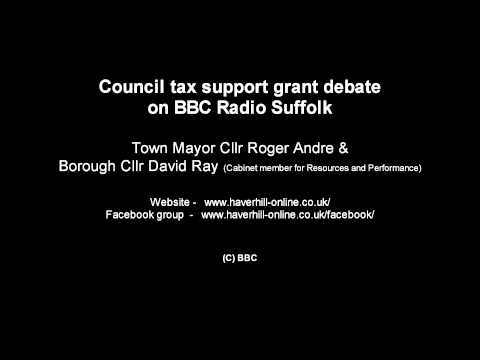 Haverhill Town Council - Council tax support grant debate - BBC Radio Suffolk 03/07/14