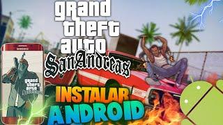 GTA: San Andreas Para Android [MEGA] [APK+DATOS] [V 1.0.3