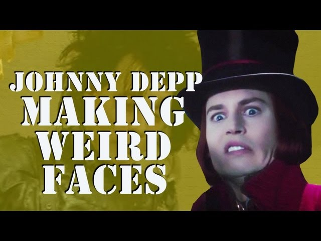 Johnny Depp Making Weird Faces - Supercut