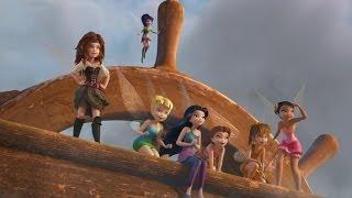 TINKERBELL EN DE PIRATEN Officiële Disney Trailer Dutch
