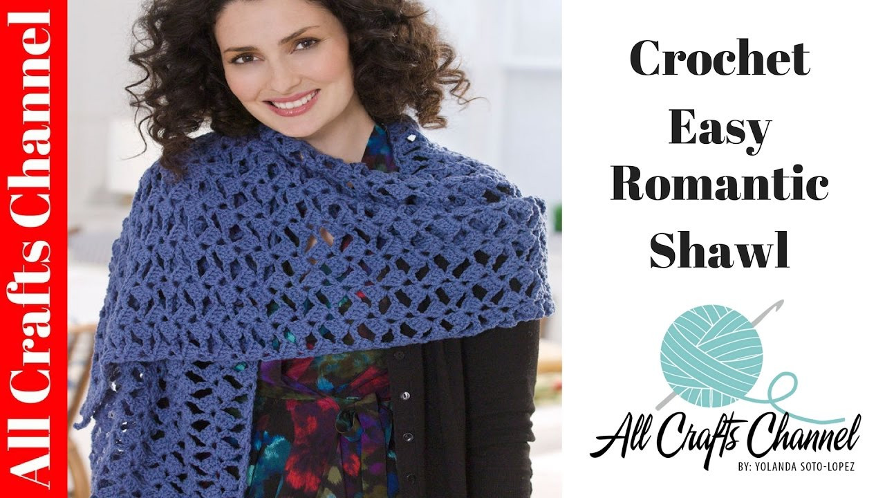 Youtube Crochet Patterns : Download image Youtube Easy Beginner Crochet Shawl Pattern PC, Android ...