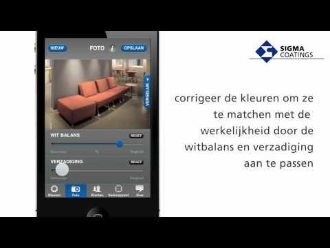 Sigma Coatings - Sigma ColourMate app voor iPhone en Android