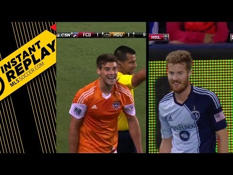 Red cards to Uri Rosell & David Horst | Instant Replay