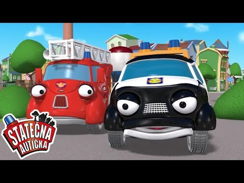 Stato�n� aut��ka - Nezn�my zlodej