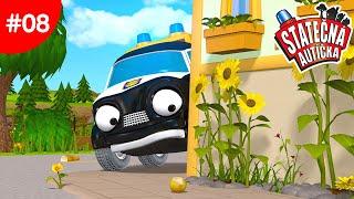 Statočné autíčka - Neznámy zlodej