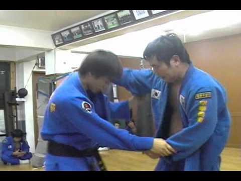(80)Gongkwon Yusul black belt sparring test (Korea jiu jitsu Hapkido)