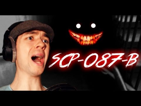 SCP-087-B | SO DAMN SCARY | Indie Horror Game - Commentary/Face cam reaction