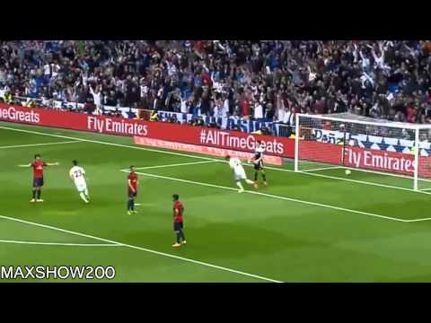 Cristiano Ronaldo ( assist DI MARIA) Amazing Goal   Real Madrid vs Osasuna 1 0 ~ 26 04 2014 ~ HD
