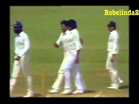 INDIAN LEGEND KAPIL DEV 400th TEST WICKET   PERTH 1992 vs AUSTRALIA 3