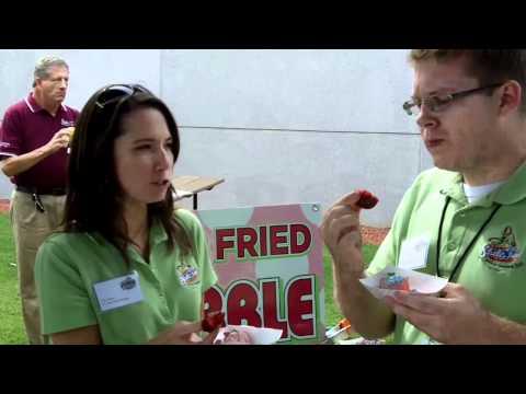 Deep-fried bubble gum and deep-fried Kool-Aid