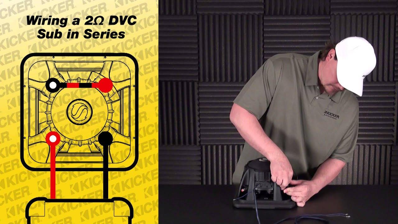 Three 4 ohm DVC Speakers = 6 ohm load